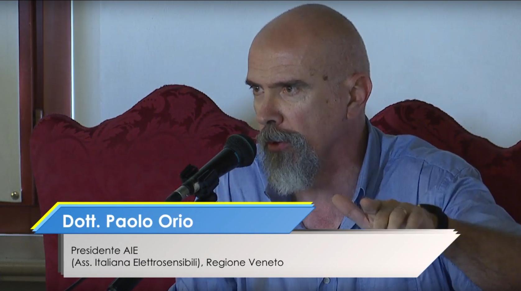 Paolo Orio STOP 5G Trento ottobre 2019